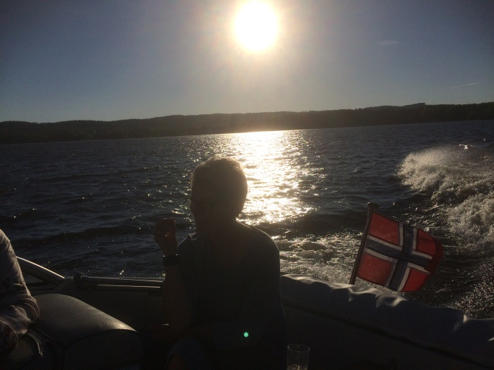 Where some people from Oslo spend their weekend afternoons…